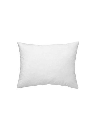 Maki Maki %100 Pamuklu Kırık Beyaz 2 Adet 50x70 Yastık Kılıfı Krem
